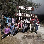 ingreso al parque nacional de manu