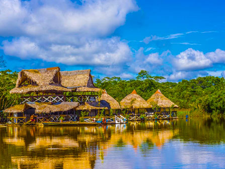 Leading Peru Expeditions to Amazon Tours: Luxury Iquitos – Amazon  Cruise  5 Days / 4 Nights. The best tourist packages in Peru and South America.