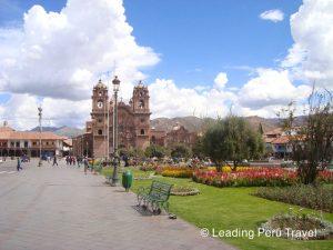 visita plaza de armas cusco y catedral